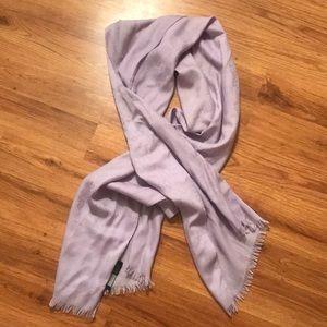 Gucci monogram logo scarf